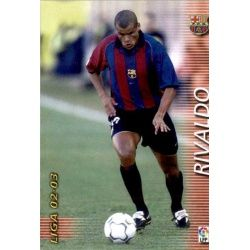 Rivaldo Barcelona 70 Megafichas 2002-03