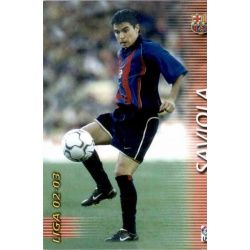 Saviola Barcelona 71 Megafichas 2002-03