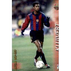 Kluivert Barcelona 72 Megafichas 2002-03