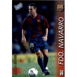 Fernando Navarro Fichas Bis Barcelona 58 Bis Megafichas 2002-03