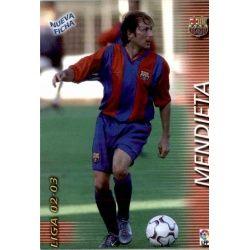 Mendieta Fichas Bis Barcelona 70 Bis Megafichas 2002-03