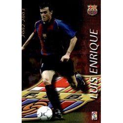 Luis Enrique Megacracks Barcelona 369 Megafichas 2002-03