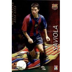 Saviola Megacracks Barcelona 381 Megafichas 2002-03