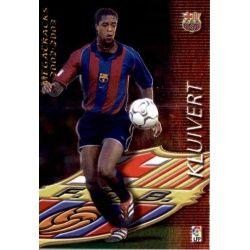Kluivert Megacracks Barcelona 385 Megafichas 2002-03