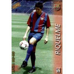 Riquelme Nuevo Fichaje Barcelona 395 Megafichas 2002-03