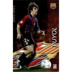 Puyol Megacracks Barcelona 365 Megafichas 2002-03
