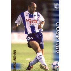 Abelardo Alavés 6 Megafichas 2002-03