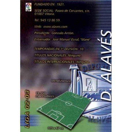 Indice Alavés Megafichas 2002-03