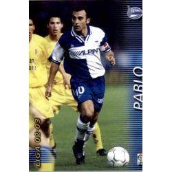 Pablo Alavés 11 Megafichas 2002-03
