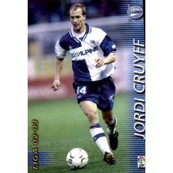 Jordi Cruyff Alavés 13 Megafichas 2002-03