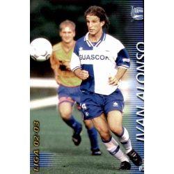 Ivan Alonso Alavés 16 Megafichas 2002-03