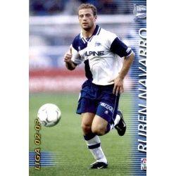 Ruben Navarro Alavés 17 Megafichas 2002-03