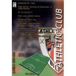 Indice Athletic Club 19 Megafichas 2002-03