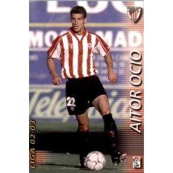 Aitor Ocio Athletic Club 25 Megafichas 2002-03