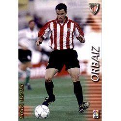 Orbaiz Athletic Club 29 Megafichas 2002-03