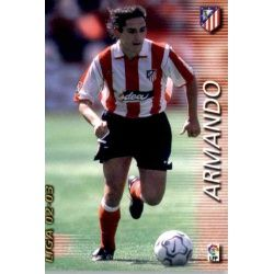 Armando Atlético Madrid 39 Megafichas 2002-03
