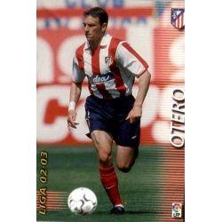 Otero Atlético Madrid 40 Megafichas 2002-03