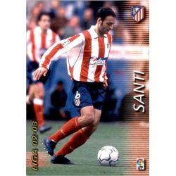 Santi Atlético Madrid 41 Megafichas 2002-03