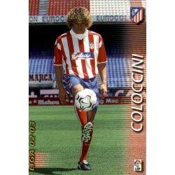Coloccini Atlético Madrid 43 Megafichas 2002-03