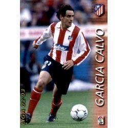 Garcia Calvo Atlético Madrid 44 Megafichas 2002-03