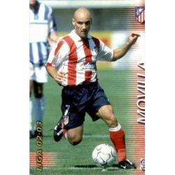 Movilla Atlético Madrid 47 Megafichas 2002-03