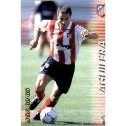Aguilera Atlético Madrid 49 Megafichas 2002-03