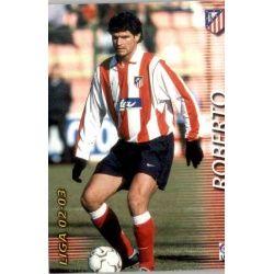 Roberto Atlético Madrid 51 Megafichas 2002-03