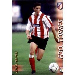 Fernando Torres Atlético Madrid 52 Megafichas 2002-03