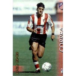 Correa Atlético Madrid 53 Megafichas 2002-03