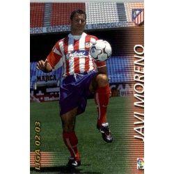 Javi Moreno Atlético Madrid 54 Megafichas 2002-03