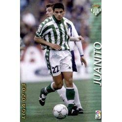 Juanito Betis 77 Megafichas 2002-03