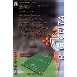 Indice Celta 91 Megafichas 2002-03