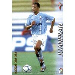 Juanfran Celta 99 Megafichas 2002-03