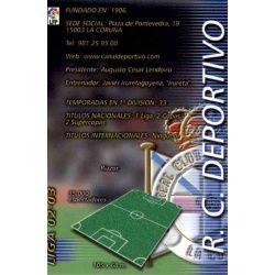 Indice Deportivo 109 Megafichas 2002-03