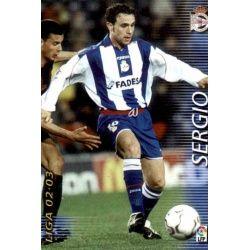 Sergio Deportivo 119 Megafichas 2002-03
