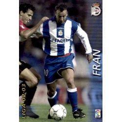 Fran Deportivo 121 Megafichas 2002-03