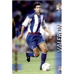Valeron Deportivo 123 Megafichas 2002-03