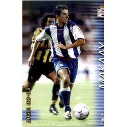 Makaay Deportivo 124 Megafichas 2002-03