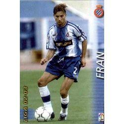 Fran Espanyol 130 Megafichas 2002-03