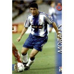 Morales Espanyol 137 Megafichas 2002-03