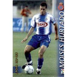 Moises Hurtado Espanyol 136 Megafichas 2002-03