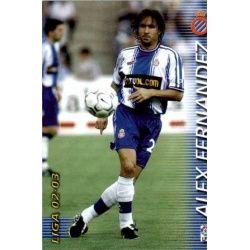 Alex Fernandez Espanyol 138 Megafichas 2002-03