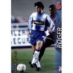 Roger Espanyol 141 Megafichas 2002-03