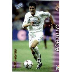 Portillo Fichas Bis Real Madrid 160 Bis Megafichas 2002-03