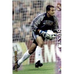 Cesar Real Madrid 147 Megafichas 2002-03