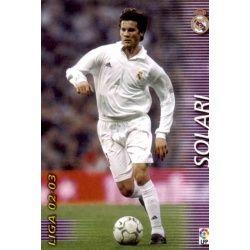 Solari Real Madrid 155 Megafichas 2002-03