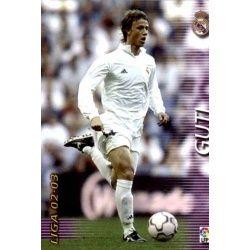 Guti Real Madrid 159 Megafichas 2002-03