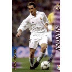 Munitis Real Madrid 160 Megafichas 2002-03
