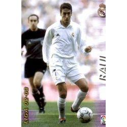 Raul Real Madrid 161 Megafichas 2002-03