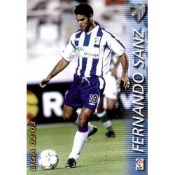 Fernando Sanz Málaga 167 Megafichas 2002-03